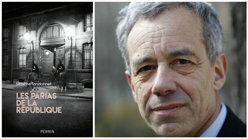 Maxime Tandonnet vient de publier <i>Les Parias de la République </i>chez Perrin. <i>Crédits Photo: Jean-Christophe MARMARA/LE FIGARO</i>