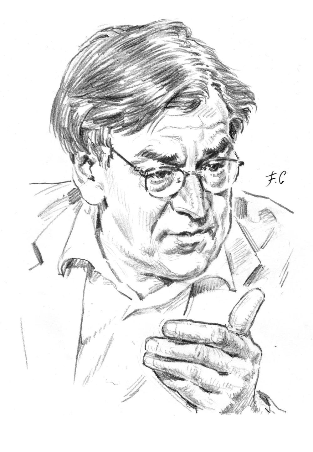 Alain Finkielkraut, philosophe et académicien.