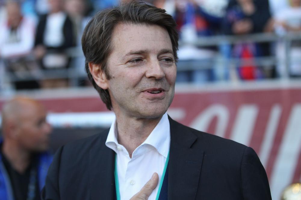 François Baroin, fidèle supporter de l'ESTAC.