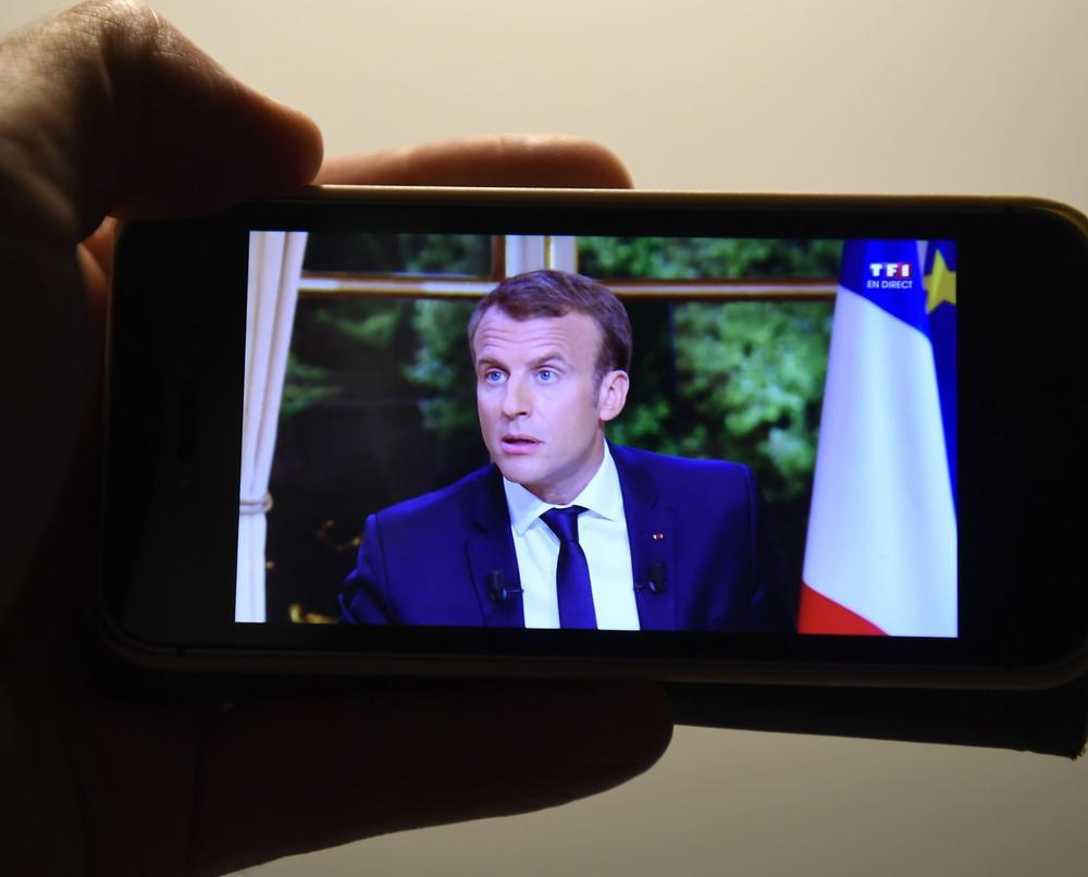 Les Jeunes avec Macron organisent leur soutien au chef de l'État