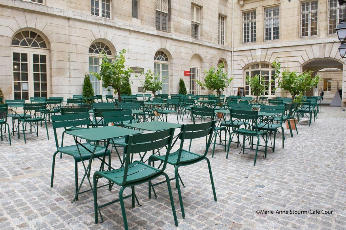 Les 5 terrasses ph m res de l 39 t 2015 paris - Restaurant paris avec terrasse jardin ...