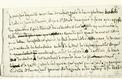 Manuscrit de Chateaubriand: le notaire condamné