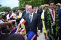 En Polynésie, Hollande s'offre une parenthèse «magique»