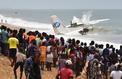 Côte d'Ivoire : un avion s'écrase dans la mer, au moins 4 morts