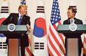 À Séoul, Donald Trump souffle le chaud et le froid face à Kim Jong-un