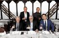 Alain Ducasse fête les astronautes au Jules Verne
