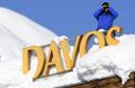 Macron arrive à Davos en terrain conquis et dans un ciel lumineux