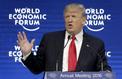À Davos, Trump vante son pays, «le meilleur endroit pour le business»