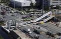 Miami : plusieurs morts dans l'effondrement d'un pont piéton