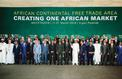 L'Afrique lance une zone de libre-échange