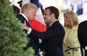 Trump et Macron célèbrent leur «relation spéciale» à Washington