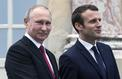 Renaud Girard : «Les défis du voyage de Macron en Russie»