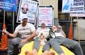 L'insolite démonstration des policiers pour dénoncer leurs conditions de vie