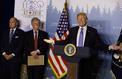 Corée du Nord, Russie, nucléaire iranien... Ce qu'il faut retenir du discours de Donald Trump à l'issue du G7