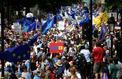 Des dizaines de milliers de Britanniques protestent contre le Brexit