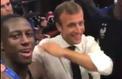 Dans le vestiaire des Bleus, Benjamin Mendy s'offre un dab avec Emmanuel Macron