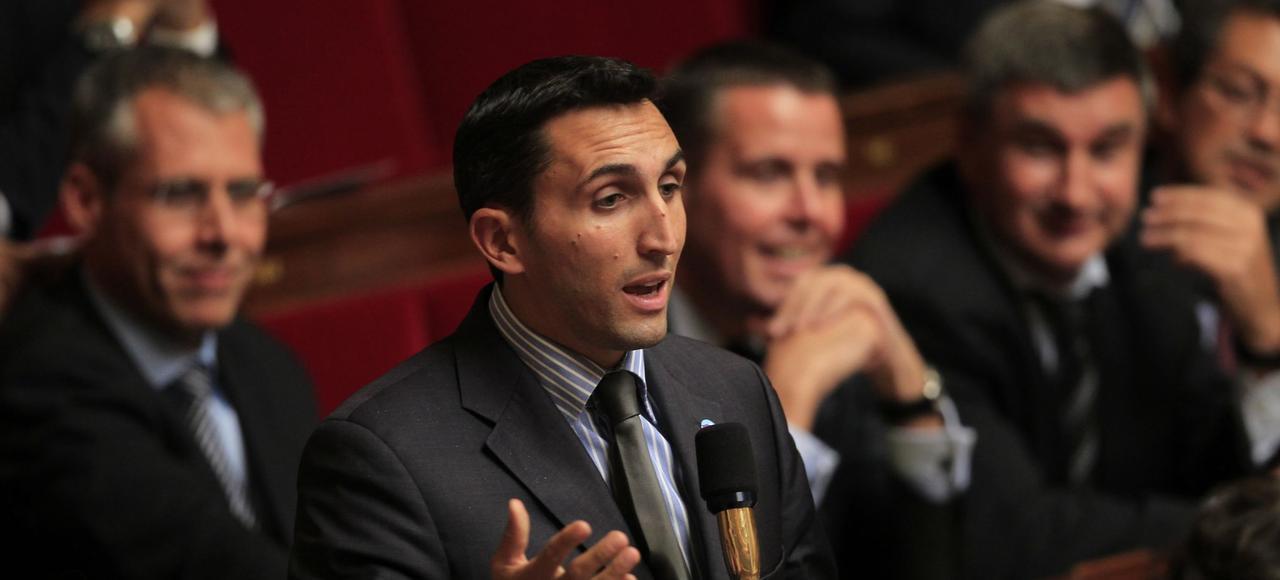 Julien Aubert, député UMP de Vaucluse.