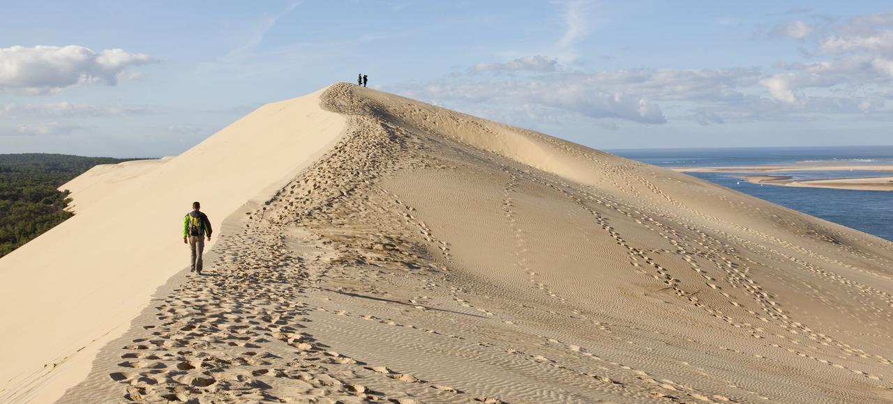 La dune du pilat bient t nationalis e - Restaurant dune du pilat ...