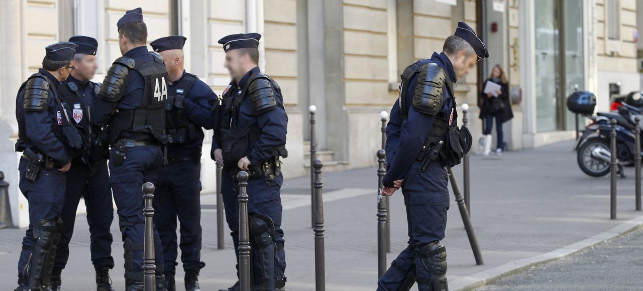Des CRS déployés dans les rues de Paris, le mois dernier, dans le cadre du plan Vigipirate.