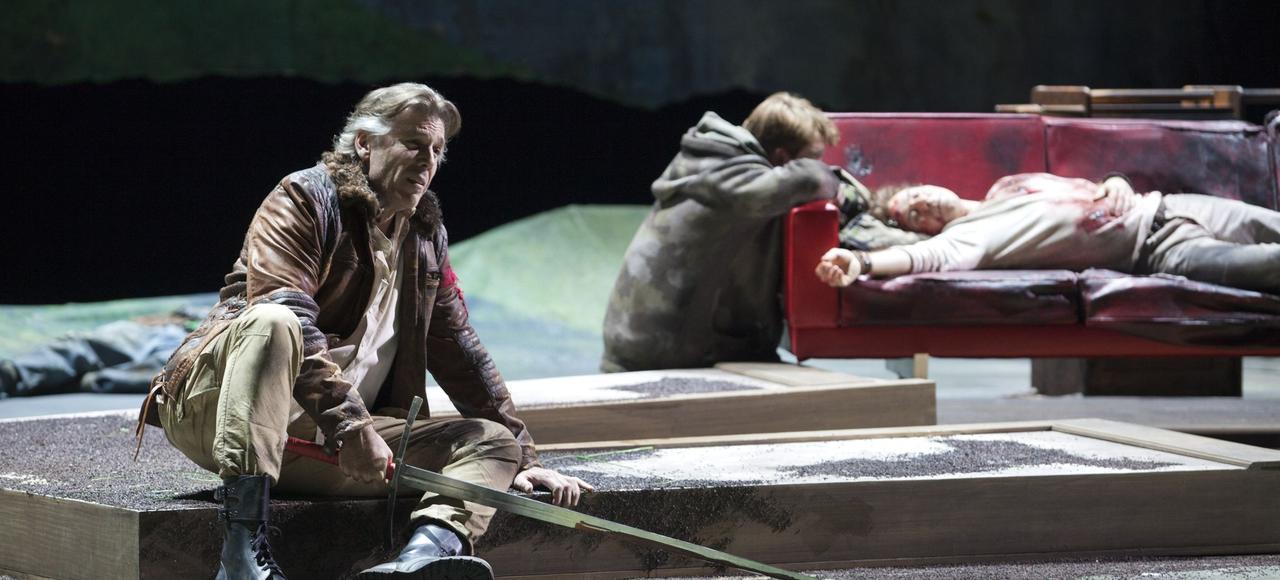 Thomas Hampson dans <i>Le Roi Arthus</i>.