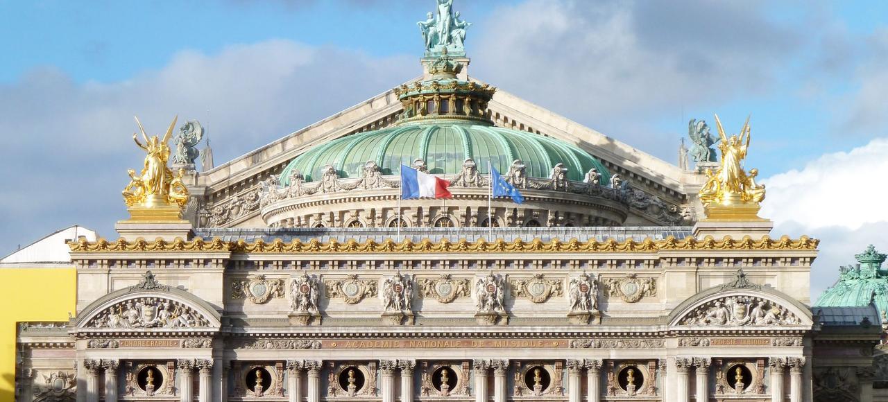 Les «instagramers» ont pu prendre des cliclés - aussitôt postés sur le Net - pris du toit de l''Opéra Garnier.