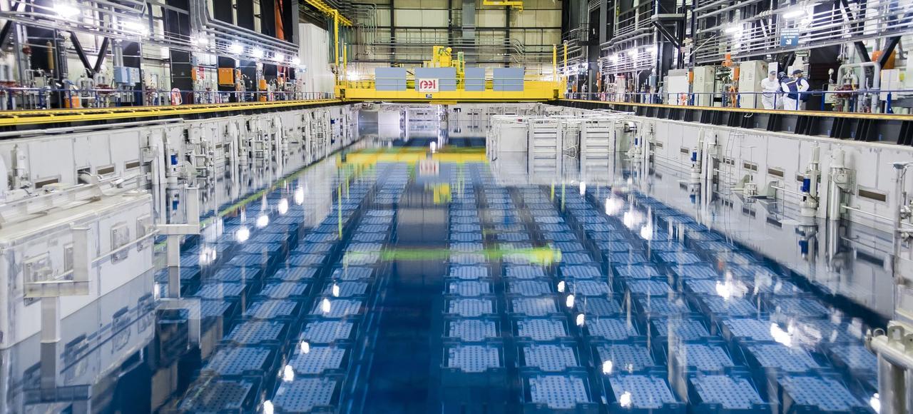 Les piscines atomiques de la hague for Piscine nucleaire