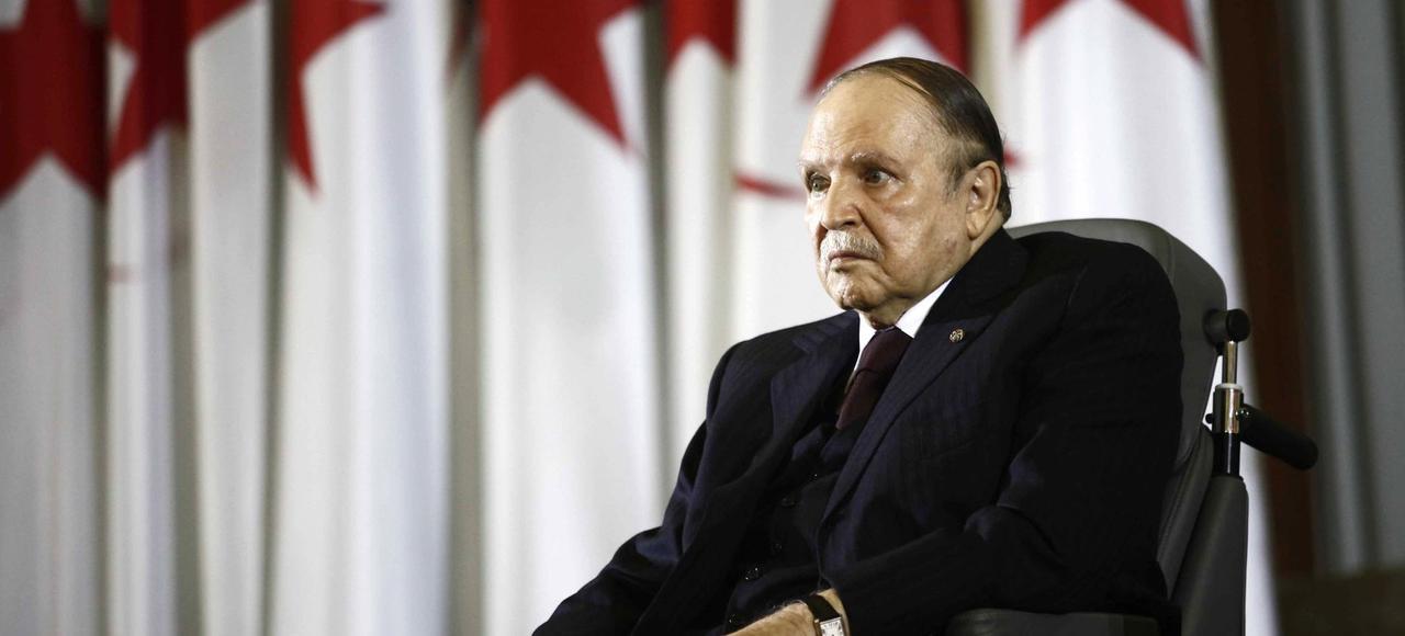Le président algérien, Abdelaziz Bouteflika, le 28 avril 2014 à Alger.