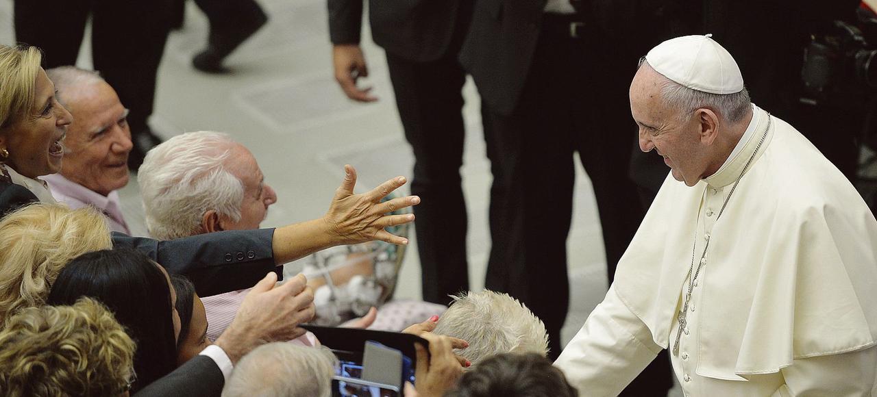 Le Pape, ici au Vatican le 12 septembre s'est exprimé dans une interview diffusé lundi sur la radio catholique portugaise Radio Renascença.