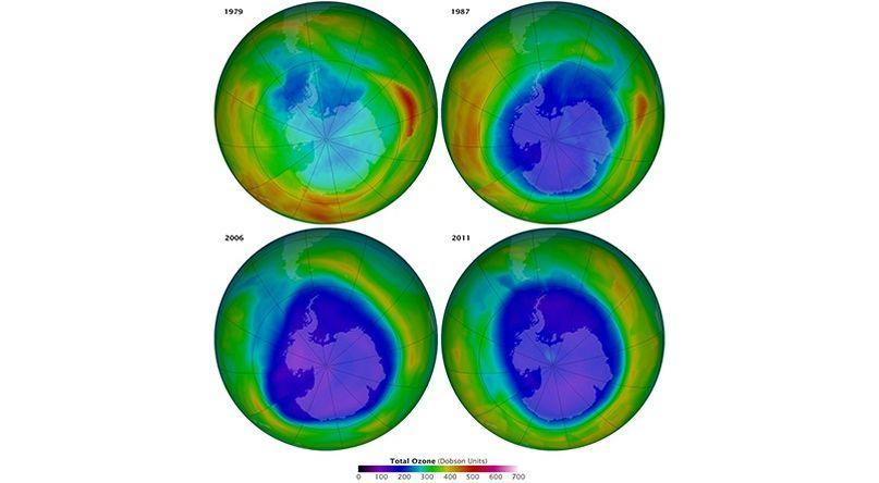 Le trou de la couche d 39 ozone r siste - Trou de la couche d ozone ...