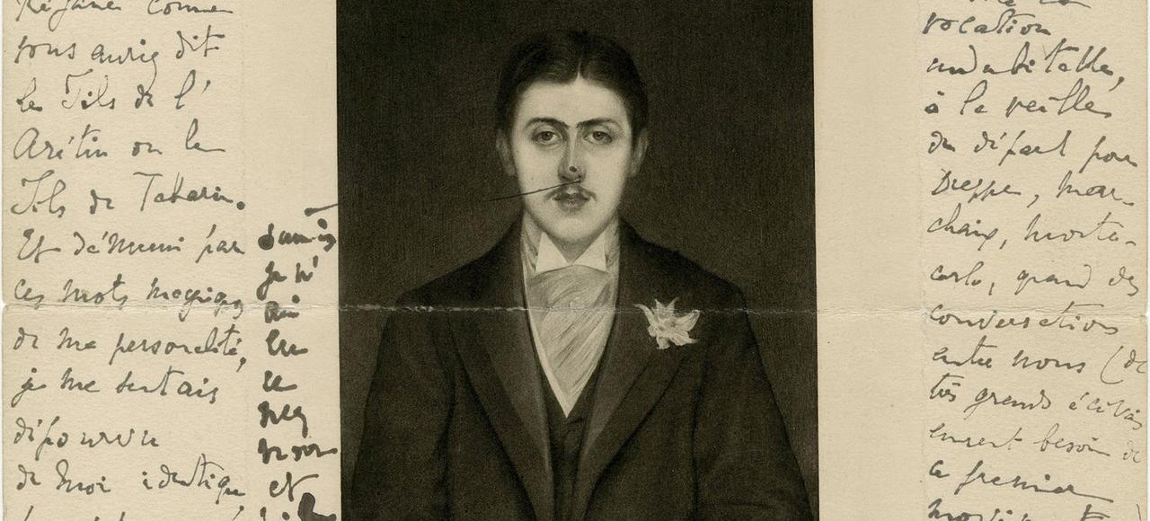 Lettre de Marcel Proust au prince Pierre de Monaco.