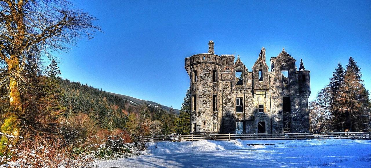 Le château de Dunans, en Écosse.