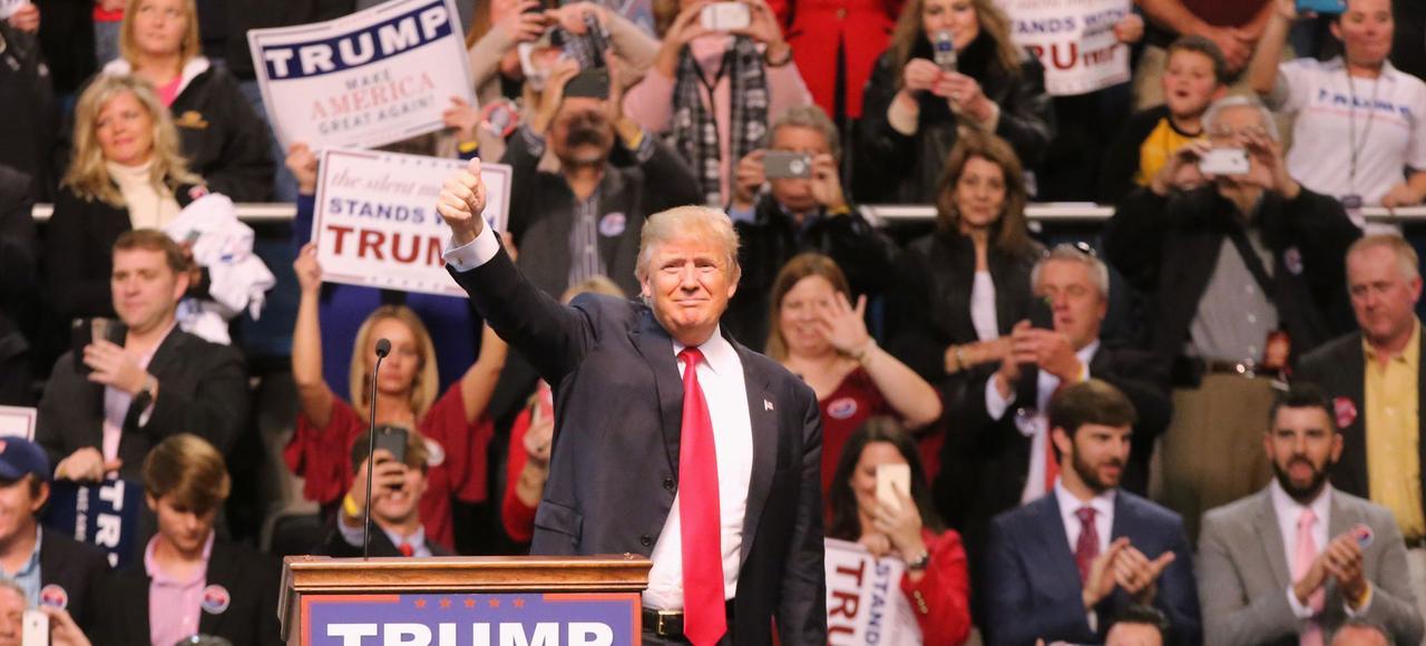 Donald Trump caracole à 35% dans les sondages du clan républicain.