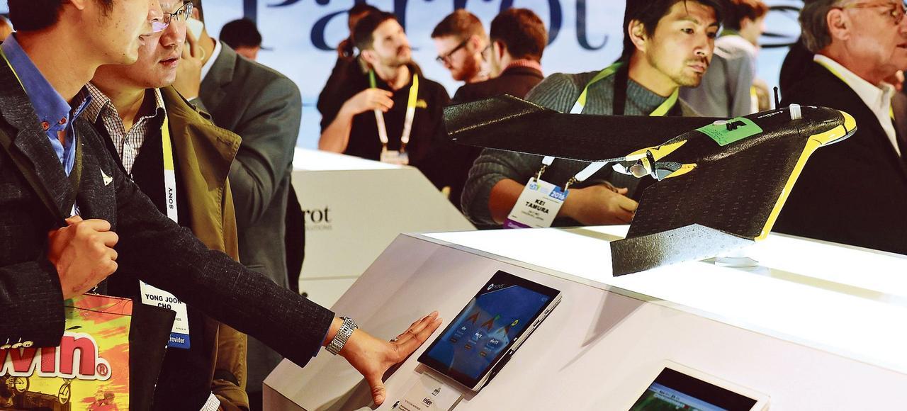 La poste et engie t tes de pont pour les start up au for Salon des nouvelles technologies las vegas