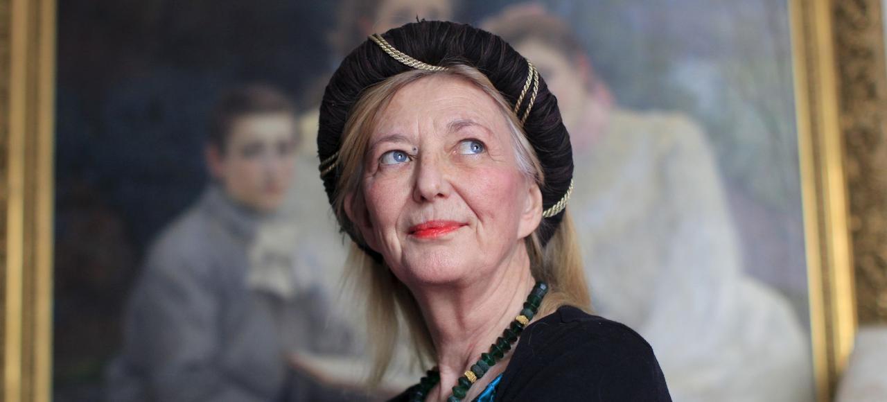 L'artiste et essayiste Aude deKerros.