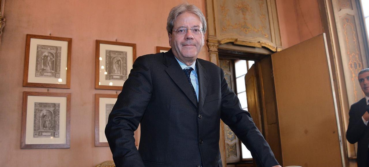 Le ministre des Affaires étrangères italien, Paolo Gentiloni, en octobre à Milan.