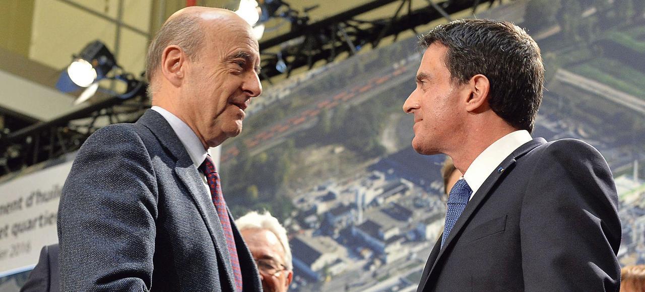 L'échange, vendredi, entre Manuel Valls et le maire de Bordeaux, Alain Juppé, a été cordial.
