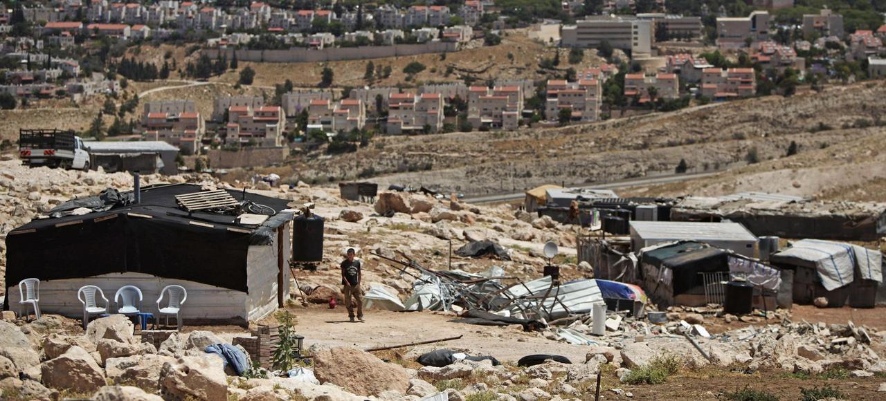 Le hameau bédouin de Jabal al-Baba, cible des démolitions israéliennes