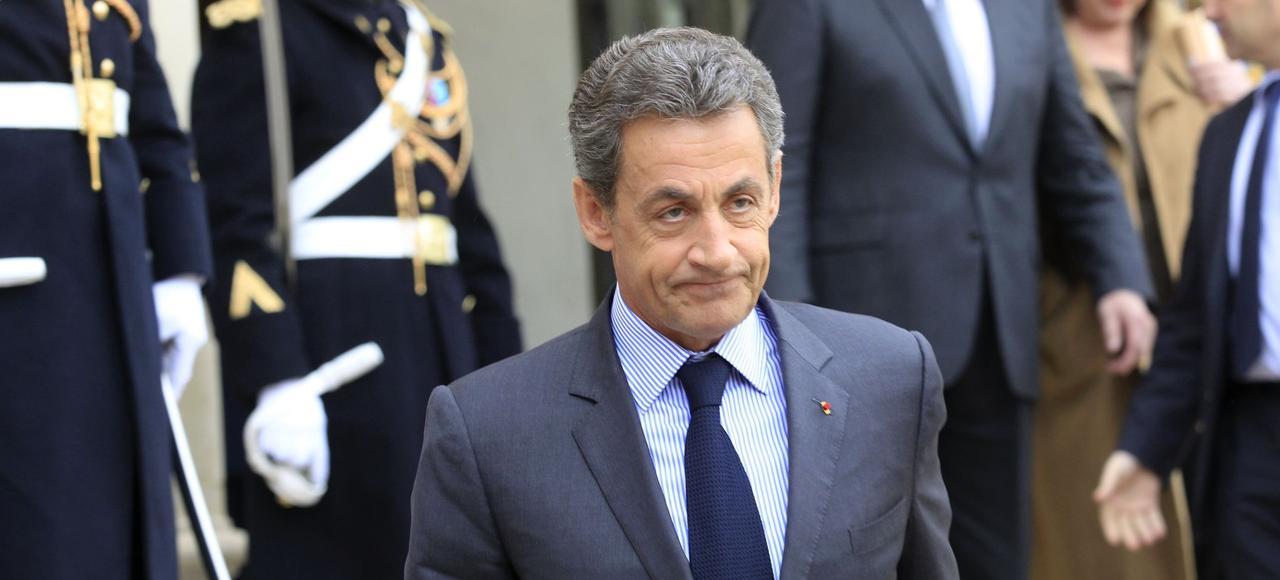 Nicolas Sarkozy, vendredi à Paris.