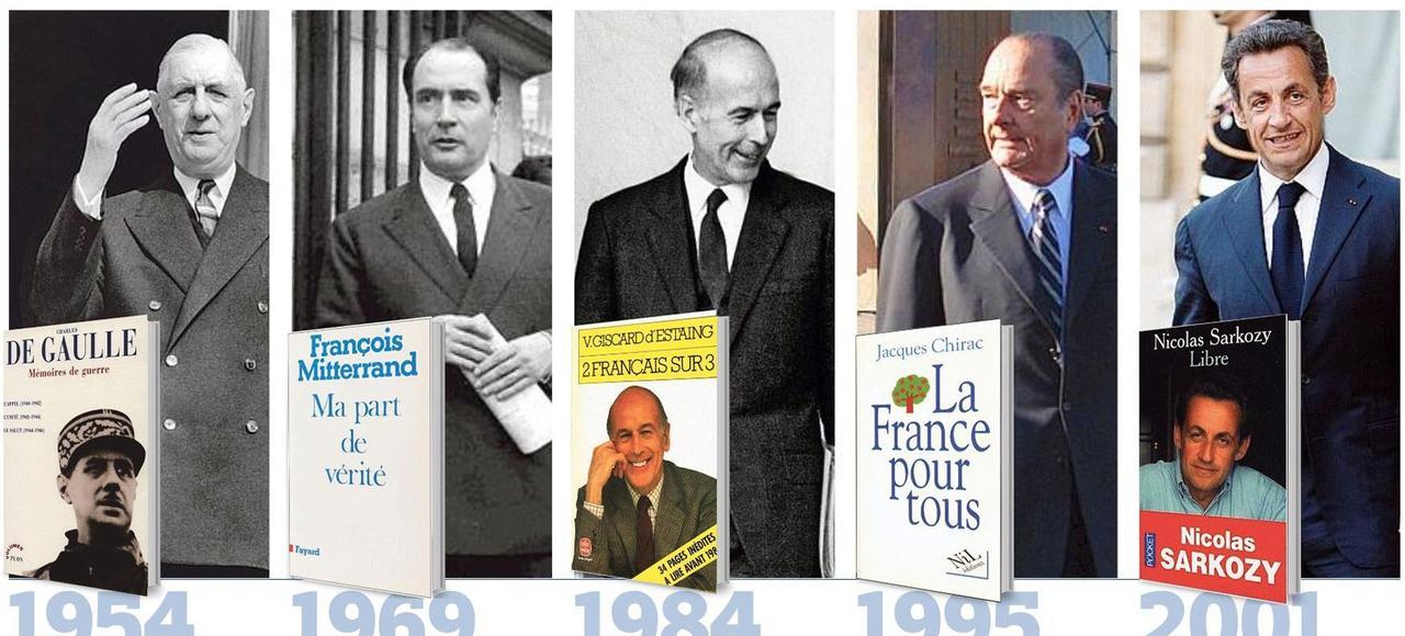 Les livres écrits par les anciens présidents de la République