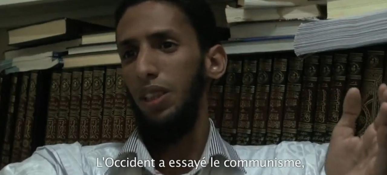 Capture d'écran du documentaire «Salafistes».