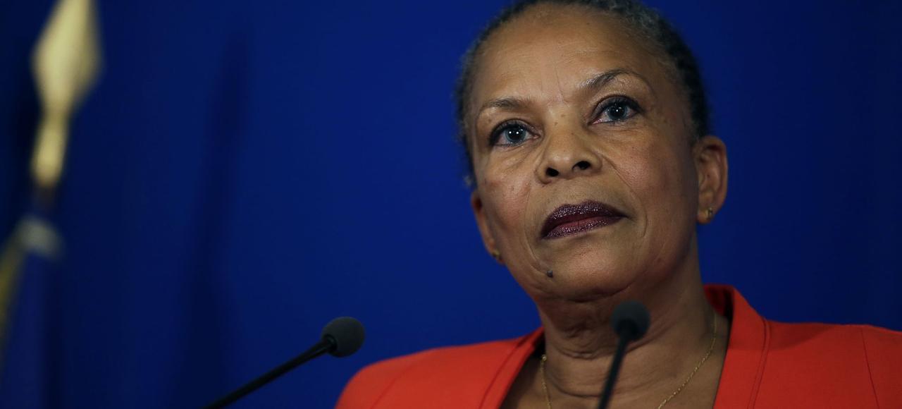Christiane Taubira mercredi.