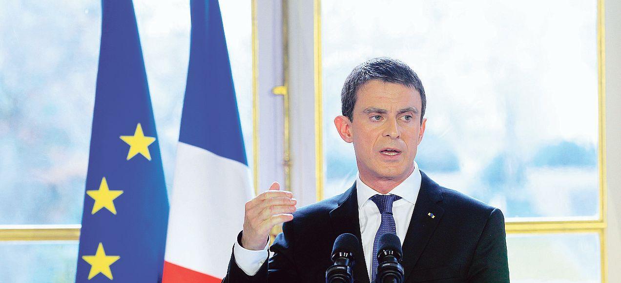 Le premier ministre adresse ses vœux à la presse, jeudi à l'hôtel de Matignon.