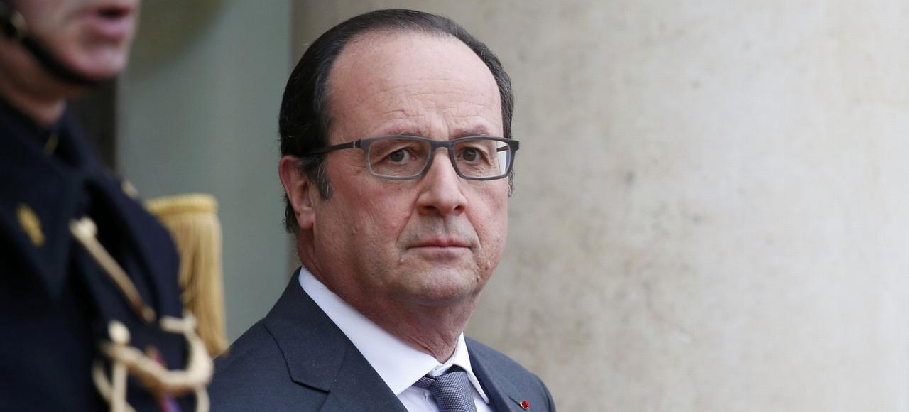 François Hollande, jeudi à Paris.