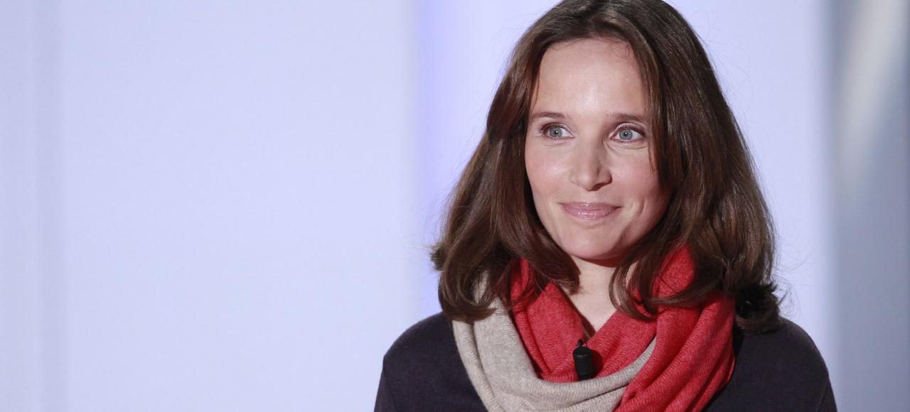 Helene Grimaud, lors de l'enregistrement de l'émission «Vivement dimanche», le 27 janvier.
