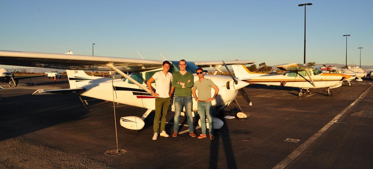Les pilotes de Wingly proposent des balades en avion privé et valident ainsi leurs heures de vol.