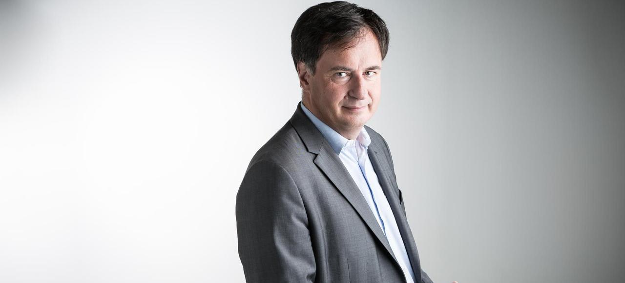 Vincent Meslet, directeur exécutif de France 2.