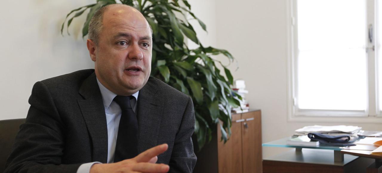 Bruno Le Roux, président du groupe socialiste à l'Assemblée nationale.