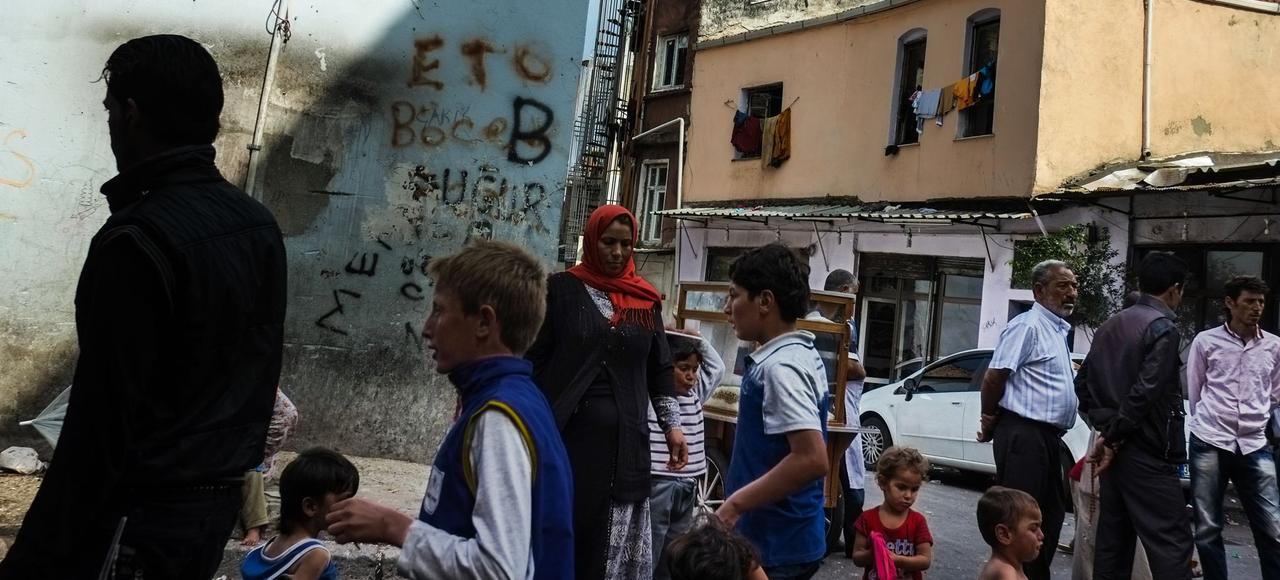 Le quartier de Fatih, refuge de la communauté syrienne dans la cité stambouliote.