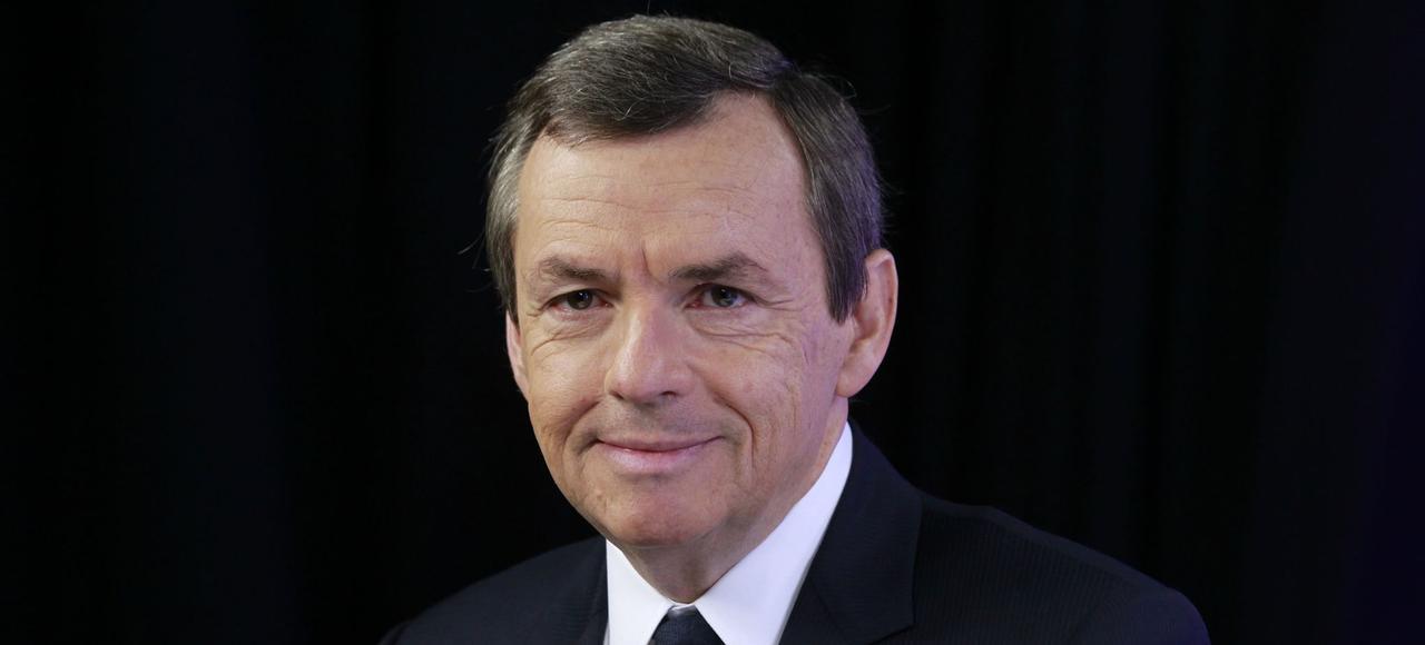 Alain Weill, président du groupe NextRadioTV, propriétaire de BFMTV.