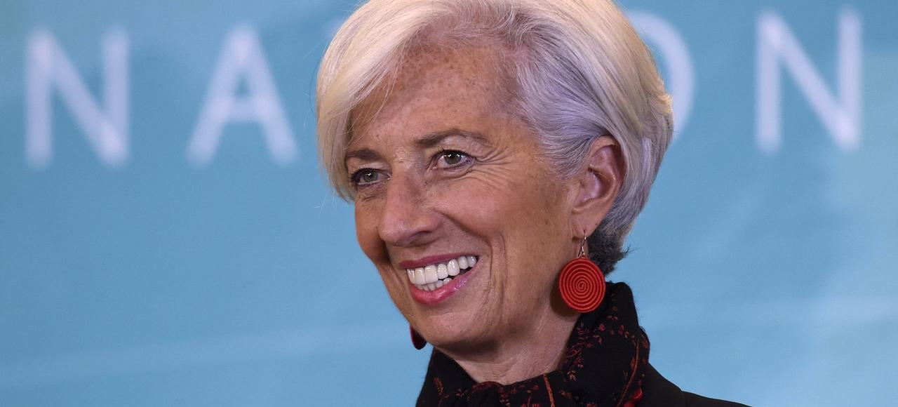 Christien Lagarde va passer cinq ans de plus à la tête du FMI.